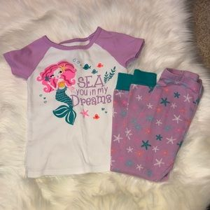 Mermaid pajama set